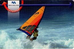 TARJETA TELEFONICA DE BULGARIA. SURF 2001, 06/03, MOB-P-0124. (257). - Sport