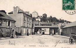 CPA  - 86 - POITIERS - Porte De Paris - Poitiers