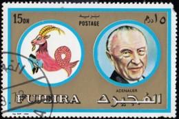 FUJEIRA - SW1523 Konrad Adenauer / Used - Astrologie