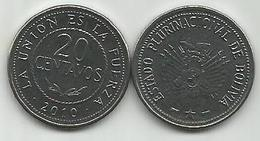 Bolivia 20 Centavos  2010. High Grade - Bolivia