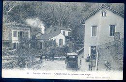 Cpa Algérie Environs De Blida Châlet Hôtel Du Ruisseau Des Singes    SEPT18-26bis - Blida