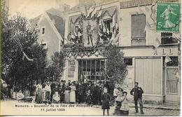 MAMERS  Souvenir De La Fête Des Pompiers 11 Juillet 1909 - Mamers
