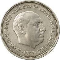 Monnaie, Espagne, Caudillo And Regent, 5 Pesetas, 1962, TTB, Copper-nickel - [ 5] 1949-… : Royaume