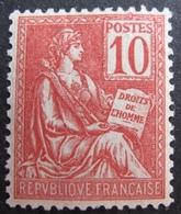 R1692/30 - 1900 - TYPE MOUCHON - N°116 NEUF** TRES BON CENTRAGE - Cote : 250,00 € - 1900-02 Mouchon