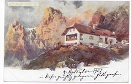 52. KÜNSTLER AK COMPTON  -  KÖLNER HÜTTE      ~ 1900 - Italia