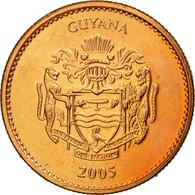 Monnaie, Guyana, Dollar, 2005, Royal Mint, SUP, Copper Plated Steel, KM:50 - Guyana