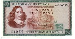 South Africa  P.114c 10 Rand 1976  Xf - Sudafrica