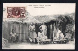 AFRIQUE - COTE D'IVOIRE - Colonies Françaises - Joueurs De Calafon - Côte-d'Ivoire