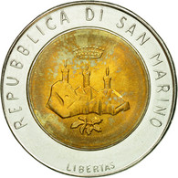 Monnaie, San Marino, 500 Lire, 1986, Rome, TTB, Bi-Metallic, KM:195 - Saint-Marin