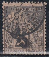 1891  YVERT Nº 6, Signé Brun - Madagascar (1889-1960)