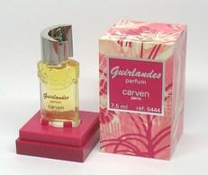"Flacon De Parfum - CARVEN "" Guirlandes"" 7,5 Ml  1/4 Fl.oz.- Parfum - Unclassified"