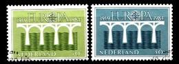 Pays-Bas 1984  Mi.nr: 1251-1252  Europa  Oblitérés / Used / Gestempeld - 1980-... (Beatrix)
