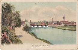 Old Colour Postcard; Abingdon, View From The River. Berkshire. C1900 - England