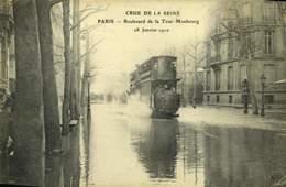 75 PARIS BOULEVARD DE LA TOUR MAUBOURG / A 266 - La Crecida Del Sena De 1910