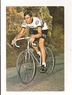 CARTE CYCLISME. JEAN LUC VANDENBROUCKE  . EQUIPE PEUGEOT ESSO. - Cycling