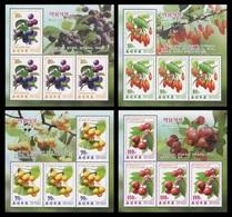 North Korea 2014 Mih. 6123/26 Flora. Medicinal Plants (4 M/S) MNH ** - Korea (Nord-)