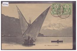 BARQUE DU LAC LEMAN  - TB - VD Vaud