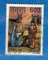 Italia ° - 1993 - NATALE Lire 600. Unif.2111.   Vedi Descrizione - 6. 1946-.. Republik