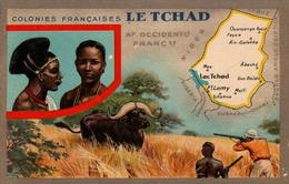 Les Colonies Françaises - Le Tchad - Tchad