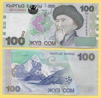 Kyrgyzstan 100 Som P-21 2002 UNC - Kirghizistan