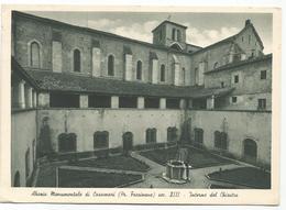 W35 Veroli (Frosinone) - Abbazia Monumentale Di Casamari - Interno Del Chiostro / Viaggiata 1955 - Italia