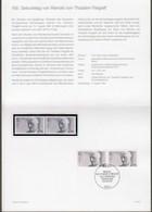 """Bund: Minister Card - Ministerkarte Typ IV, Mi-Nr.1556 : """" Gründer Ev. Kirchentag - Reinold Von Thadden-Trieglaff """" !  X - Storia Postale"""