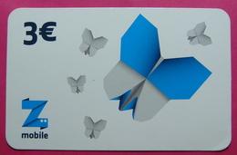 2 Edition Kosovo PREPAID CARD 3 Euro. Operator ZMOBILE. 0586 0001 6306 - Kosovo