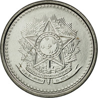 Monnaie, Brésil, 5 Centavos, 1986, TTB, Stainless Steel, KM:601 - Brazil