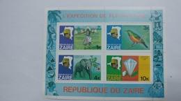 Zaire-l'expedition De Fleuve Zaire-(block4stamp)-mint - Africa (Other)