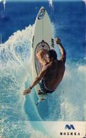 TARJETA TELEFONICA DE BULGARIA. SURF 1, 08SLBC, 05/04, MOB-P-0161b (281) REGULAR - Sport