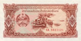 Laos 20 Kip, P-28r (1979) - Replacement Note - (UNC) - Laos