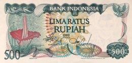 Indonesia 500 Rupiah, P-121r (1982) - Replacement Note - (UNC) - Indonesien