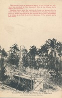 Tombe Du Mobile Du Bois De L'Hopitau Près Sillé Le Guillaume (72 Sarthe) Fait De Guerre 1870 Relatés - Dos Simple - Sille Le Guillaume
