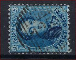 Nr. 15 Met Distributiestempel D125 Van LIGNE En In Goede Staat (zie Ook 3 Scans) ! Inzet Aan 45 € ! - 1863-1864 Medaglioni (13/16)