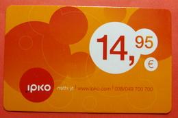 Kosovo PREPAID CARD 14,95 Euro. Operator IPKO. 347511, VERY RARE - Kosovo