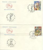 ITALIA - FDC  CAVALLINO 1994 -  IL CIRCO - ANNULLO SPECIALE UDINE - 6. 1946-.. Repubblica