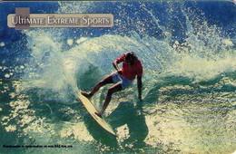 TARJETA TELEFONICA DE BULGARIA. ULTIMATE EXTREME SPORTS, SURF 1, 04/02, MOB-P-0075 (279) - Sport