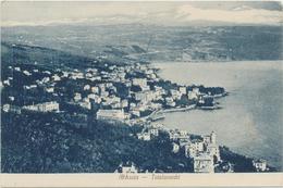 Croatia Opatija 1910 / Abbazia / Totalansicht, Panorama - Kroatien