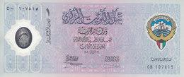 KUWAIT 1 DINAR 2001 P-CS2 POLYMER 10TH Liberation DAY UNC  */* - Koweït