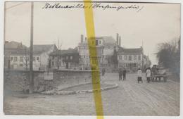 51 MARNE BETHENIVILLE Canton MOURMELON CARTE PHOTO  ALLEMANDE MILITARIA 1914/1918 WW1WK1 - Bétheniville