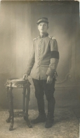 CARTE PHOTO SOLDAT REGIMENT N°10 JUILLET 1915 - Regimente