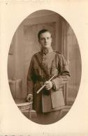 CARTE PHOTO  SOLDAT REGIMENT N° 29 - Regimente