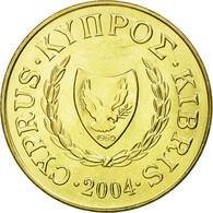 Monnaie, Chypre, 5 Cents, 2004, SPL, Nickel-brass, KM:55.3 - Chypre