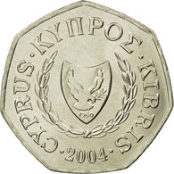 Monnaie, Chypre, 50 Cents, 2004, SPL, Copper-nickel, KM:66 - Chypre