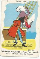 Carte De CAPITAINE CROCHET Issu D'un Jeu De 7 Familles - Other Collections