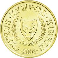 Monnaie, Chypre, Cent, 2003, SPL, Nickel-brass, KM:53.3 - Chypre