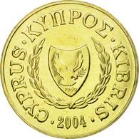 Monnaie, Chypre, 10 Cents, 2004, SPL, Nickel-brass, KM:56.3 - Chypre