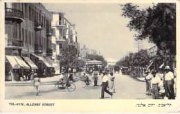 ISRAEL Israele - TEL AVIV : Allenby Street ( Rue Animée )  CPSM Photo Format CPA - Israel