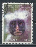 °°° TANZANIA - ZANZIBAR - RED COLLUBUS MONKEY - 2011 °°° - Tanzania (1964-...)