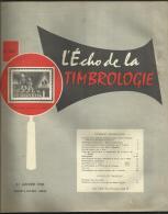 N° 1226 - L'écho De La Timbrologie / Janvier 1956 - Français (àpd. 1941)